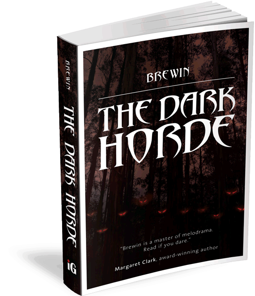 The Dark Horde, book cover
